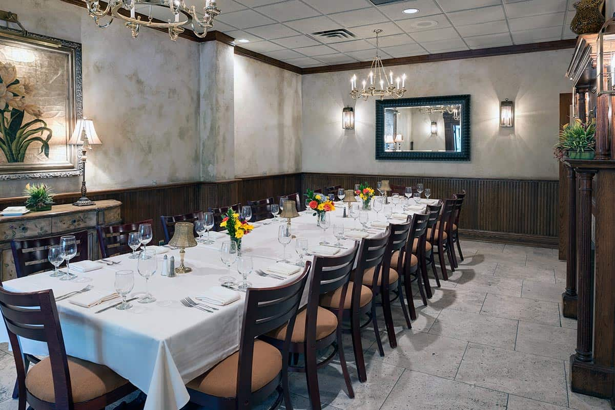 Private dining photo gallery nicollet island inn for Best private dining rooms minneapolis