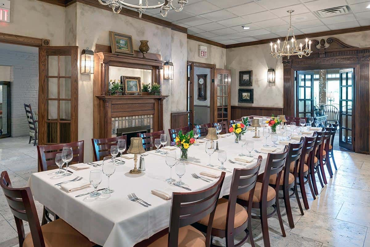 Corporate events nicollet island inn for Best private dining rooms minneapolis